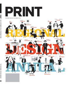 An alternate version of Sean Adams' (AdamsMorioka) Regional Design Annual cover
