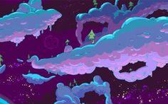 Adventure Time Landscape