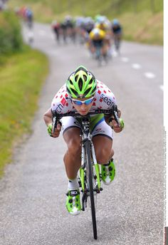 Peter Sagan (Cannondale) just falls away from the peloton Photo credit © Tim de Waele/TDW Sport