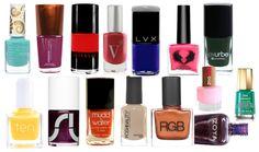 5-Free Nailpolishes: exurbe cosmetics