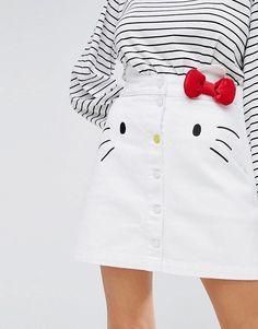 Lazy oaf hello kitty skirt