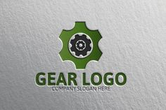 Gear Logo by Josuf Media on @creativemarket