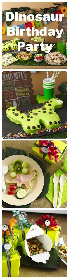 Create a Jurassic-era bash that's easy to DIY. Click through for tips, décor ideas and a dino-themed menu that will make the kids pleased as (prehistoric) punch. We've also got a birthday party checklist to help you stay on track and plan ahead.