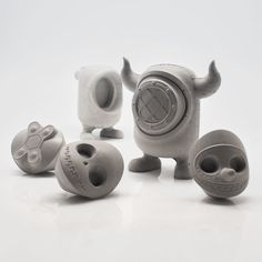 Concrete Monster Toys The Collectible United Monsters are a Line of Art Toys for Adults