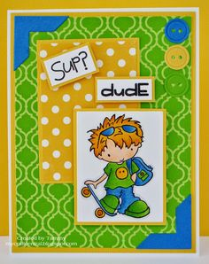 My Craft Central: Dude