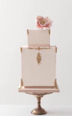 Wedding cake idea; Featured Cake: Rosalind Miller Cakes #weddingcakes