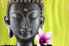 Buddha with Flower