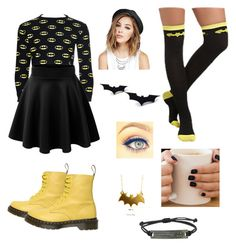 """BatMan"" by bvb-brianna ❤ liked on Polyvore"
