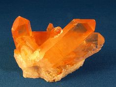 Tangerine Quartz - Citrine by Piedmont Fossil, via Flickr