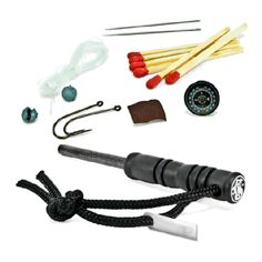 Smith & Wesson Fire Striker w/ Survival kit #poachit