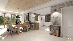 Dom pod Kołobrzegiem w zacisznym miejscu. - Jadalnia, styl rustykalny - zdjęcie od Agata Hann Architektura Wnętrz