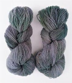 Essence of Autumn Hand Dyed Yarn: Woodland sport col. Sea Spray