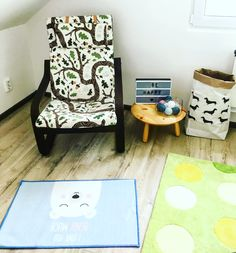 Baby room with IKEA JYSK and CUCC.