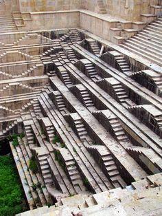 Incredible India - Google+ - Bundi, India amazing medieval stepwell of Dabhai Kund.…