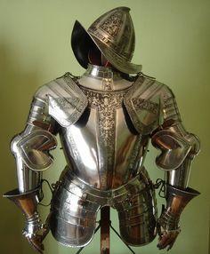 Armor 1500-1600 morion helmet