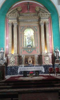 Iglesia de los PP Carmelitas. Altar mayor. Talavera de la Reina.