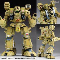 AmiAmi [Character & Hobby Shop] | Plastic Model The Super Dimension Fortress Macross 1/72 MBR-04-Mk VI Destroid Tomahawk(Back-order)