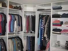Master Bedroom Closet Organization on a Budget: Before & After - YouTube