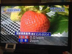 NHKニュース「日本の農産物は残留農薬が多すぎてEUや台湾には出荷できない。日本販売用と海外輸出用で畑を変える」