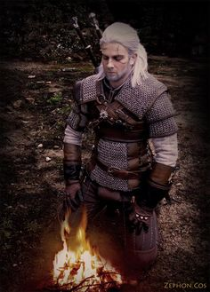 Zephon Cos Geralt Cosplay The Witcher Wiedźmin