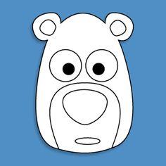 Resultado de imagen para animal mask template   C.masks   Pinterest ...