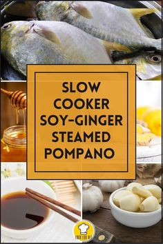 Cooking fish in a slow cooker may seem a little out of the ordinary. However, this recipe for soy ginger steamed pompano may bring a pleasant surprise! Cooks perfectly and you'll be a hero at the dinner table! #slowcooker #crockpot #fishrecipe #seafood Fish Recipes, Seafood Recipes, Soy Ginger Sauce, Gluten Free Chinese, Chinese Cooking Wine, Cooking Fish, How To Cook Fish, Ginger And Honey, Fish And Seafood