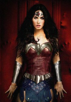 Megan Fox Wonder Woman photomanipulation by ~NigelHalsey on deviantART