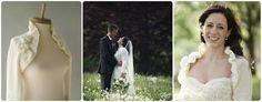 Organic crocheted bolero or long sleeve shrugs Wedding Coat, Autumn Wedding, Wedding Stuff, Wedding Ideas, Shawls, One Shoulder Wedding Dress, Wedding Planning, Eco Friendly, Cover Up