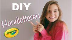 DIY SCHOOLSPULLEN PIMPEN MET DE ALLERNIEUWSTE TREND HANDLETTEREN - BACK TO SCHOOL - YouTube