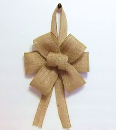 Bows for church pews.
