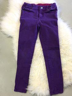 Garnet Hill Purple Skinny Jeans - 7Y Purple Skinny Jeans, Garnet, Pants, Clothes, Products, Fashion, Grenada, Tall Clothing, Moda