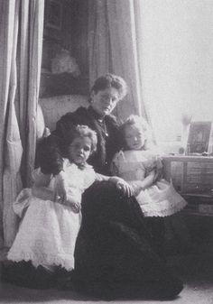 Alexandra with Maria & Anastasia