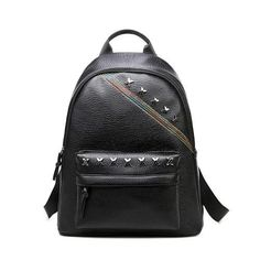 Cheap rucksack laptop bag, Buy Quality backpack rucksack directly from China hobo backpack Suppliers: Fashion Punk Style Women's Leather Shoulder Bag Clutch Black PU Leather Tote Purse Hobo Backpack Rucksack Laptop Bag Big School Bags, Ladies School Bag, Girls School, Satchel Backpack, Backpack Travel Bag, Fashion Backpack, Black Backpack, Tote Purse, Kanken Backpack