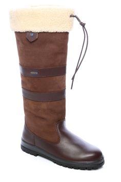 women leather waterproof winter boots