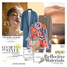 """""""Reflective Materials"""" by rainie-minnie ❤ liked on Polyvore featuring F, Vera Wang, Sandy Liang, Rick Owens, Emilio Pucci, Roberto Cavalli, Converse, Chicnova Fashion and Illume"""
