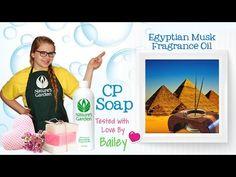 Soap Testing Egyptian Musk Fragrance Oil- Natures Garden #naturesgarden #egyptianmuskfragranceoil #soaptestingfragrances