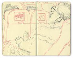 Bryce Wymer Process blog: Hurricane Sandy { Sketchbook }