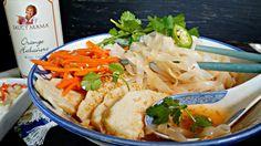 Sweet n Sour Chicken Noodle Saucy Mama athomewithrebecka.com