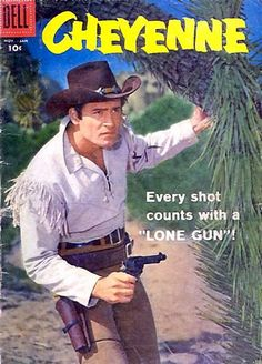 Longtime Nevada County resident Clint Walker starred in the iconic television western Cheyenne from This was the golden era of TV westerns, with dozens of similar shows airing around Clint Walker, Vintage Comic Books, Vintage Tv, Vintage Comics, Great Tv Shows, Old Tv Shows, Hospital Tv Shows, General Hospital, Western Comics