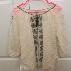 Peasant blouse Worn once Forever 21 Tops