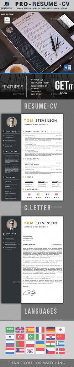 #Resume - Resumes Stationery Download here:  https://graphicriver.net/item/resume/19966873?ref=alena994