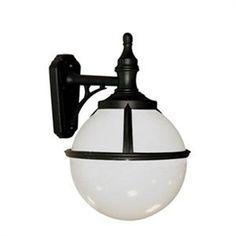 We Love this Elstead - Glenbeigh Up / Down Black Wall Lantern Light