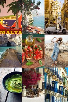 Moodboard Malta #MaltaisMore by The Slow Pace
