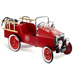pedal-operated fire engine