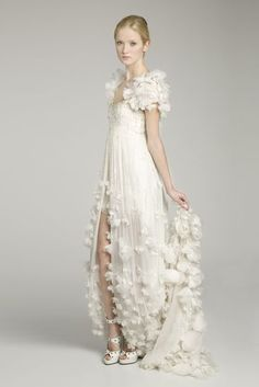 I wouldn't want a short dress/slit in the front, but everything else about this dress is breathe-taking.