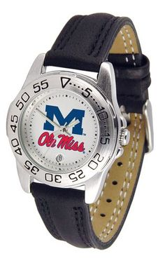 NCAA Mississippi Rebels Ole Miss Ladies' Sport Watch