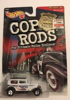Hot Wheels '32 Sedan Delivery Cop Rods Newark, NJ Police Dept | Toys & Hobbies, Diecast & Toy Vehicles, Cars, Trucks & Vans | eBay!