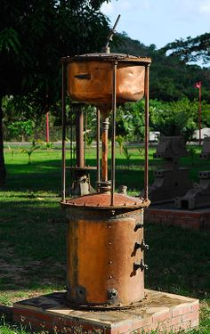 Distillerie Neisson en Martinique