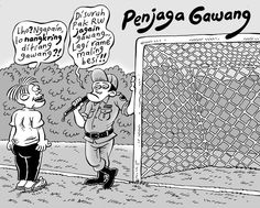 Mice Cartoon, Komentator Bola: Penjaga Gawang