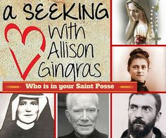 My interview with Author, Paul Thigpen - The Saints that Battled Satan (Tan Books) .. and the idea of creating your own Saint Posse .  Who would you include in yours?